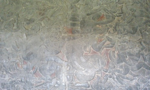17第一回廊の壁画